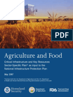AGRICULTURE AND FOOD by the FDA