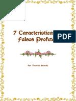 7 Caracteristicas de Falsos Profetas
