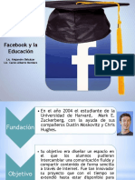 Facebook y Educacion