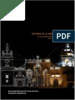 Silabo Historia de la Arquitectura III / 2017-II
