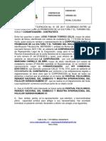 Contrato de Patrocinio Conantioqueño-corposanpedro 2017 Doña Marcy