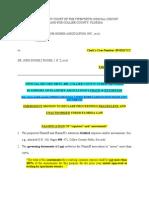 GRANADA CONDO HOMES OFFICIAL RECORD 330 PG 498, COLLIER COUNTY PUBLIC …