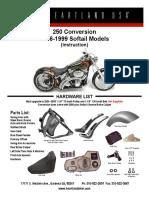 250 Conversion Softail 1986-1999