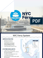NYC Ferry RIOC Board Meeting