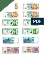 Billetes Caja Registradora
