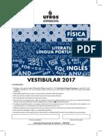 UFRGS 2017 dia 1