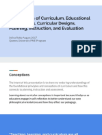 2conceptions of curriculum   evaluationreal