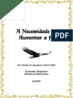 A Necessidade de Aumentar a Fé - Spurgeon.pdf