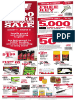Seright's Ace Hardware 5,000 Store Celebration Sale
