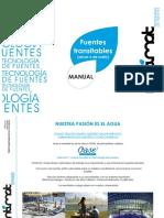 Manual Fuentes Transitables