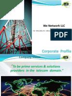 Company Profile - WeNetworkllc