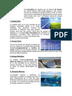 Las Fuentes de Energías