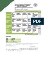 Evaluación Contribucion Equipo
