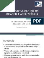 transtornosmentaisnainfnciaeadolescncia-110804063904-phpapp02