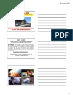 Materiales Peligrosos - Nivel Advertencia - Parte 1
