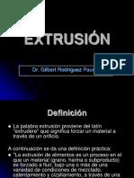 Extrusion 2017