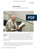 Muere Eduardo del Río 'Rius' a los 83 años