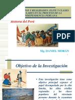 Daniel Morán. La Plebe en La Independencia.