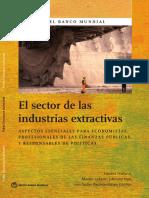 El Sector de Las Industrias Extractivas