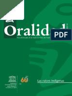 Revista Oralidad 14, Unesco