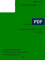 Ecuaciones Diferenciales Parciales - Julián Fernández Bonder