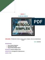 UNIDAD 2. Método Simplex