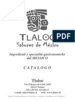 Catalogo Pruductos Mexicanos en Italia