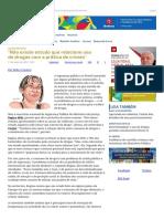Conjur - Não Existe Estudo Que Relacione Uso de Drogas Com a Prática de Crimes - Pedro Canário