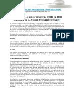 Analisis Sentencia C 836 de 2001