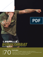 BODYCOMBAT 70 Choreography Booklet