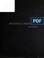 Elementary Outline of Mechanical Processes