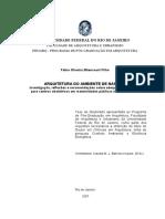 Arquitetura Do Ambiente de Nascer_ Investigação, Reflexões e Recomendações Sobre Adequação de Conforto Para Centros Obstétricos Em Maternidades Públicas No Rio De