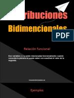 Distribuciones Bidimencionales