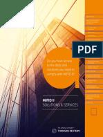 MiFID II Brochure 2017