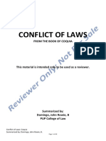 NOTES ON CONFLICT OF LAWS.pdf