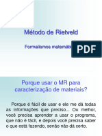 Método de Rietveld