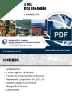 Competitividad Del Cluster Logístico de Panamá - U Latina