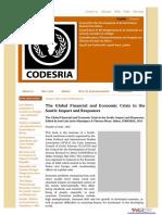 Finance Crisis Upon Afrika