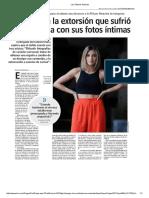 Las Últimas Noticias Extorsion Karen Paola Fotos