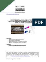 HCA Oriented Core Procedures and Templates