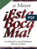 Esta Boca Mia - Joyce Meyer
