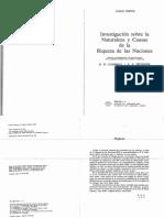 SMITH Adam - Investigación Sobre La Naturaleza.. Libro I - Caps. IV y V
