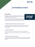 Allianz Manejo de Productos a Granel