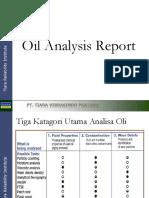 1d - Oil Analysis Report
