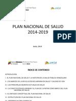 Plan Nacional de Salud