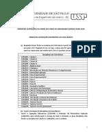 Alterações EQ 2018