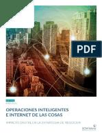 Operaciones Inteligentes e Internet de Las Cosas