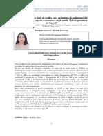 """""""Evaluación de tres dosis de zeolita para optimizar el rendimiento del cultivo de Fresa (Fragaria x ananassa), en el cantón Tulcán provincia del Carchi"""""""