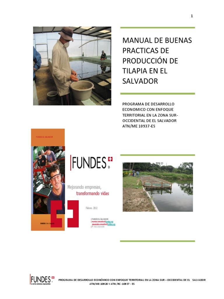 Manual de Buenas Practicas El Salvador