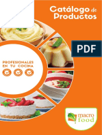 Catalogo Productos Macro Food 2016